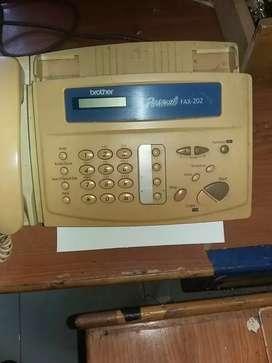 Jual mesin fax panasonic 202...kondisi.normal