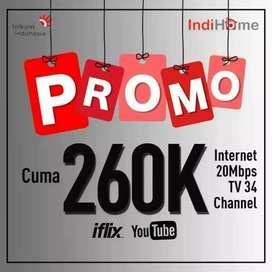 indihome internet unlimited wifi rumah kantor ruko promo termurah