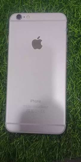 Iphone 6 plus 64 gb silver colour good condition