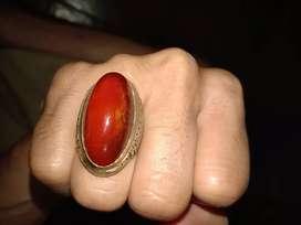 Batu akik pandan merah