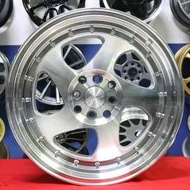 Jual velg Racing HSR Ring 15 bisa credit di ska Ban pekanbaru