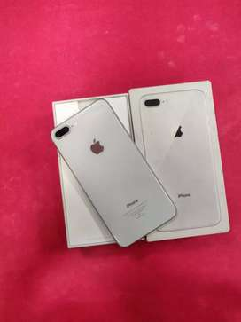 iPhone 8 plus 64gb brand new condition with box charger