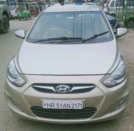Hyundai Verna 2011 Diesel 95000 Km Driven