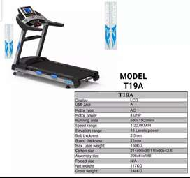 JOGWAY COMMERCIAL TREADMILL T19A 4 HP MACHINE