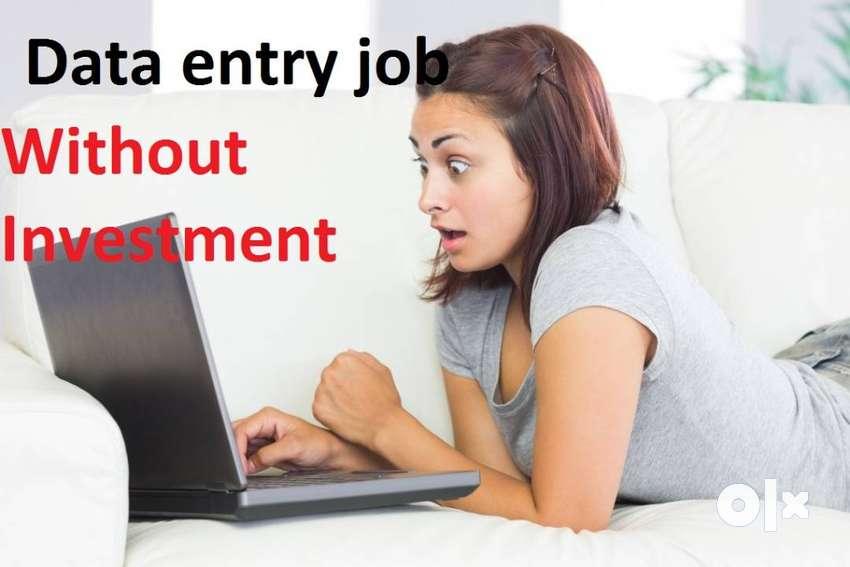 Genuine and best part time job easy data entry work offline data 2/ 0