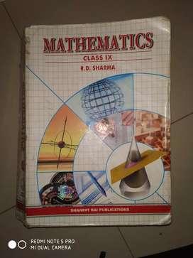 R. D. SHARMA Mathematics 9th standard