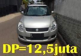 Suzuki Swift 2008 M/T | Bisa Kredit TDP=12,5juta