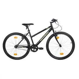 Decathlon Cycle - ST 20 LOW FRAME 26 INCH BLACK