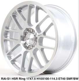 Velg kalimatan RAI-S1 HSR R17X75 H10X100-114,3 ET40