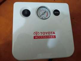 Mini air compressor tyre inflator with bag 4 car by toyota accessories