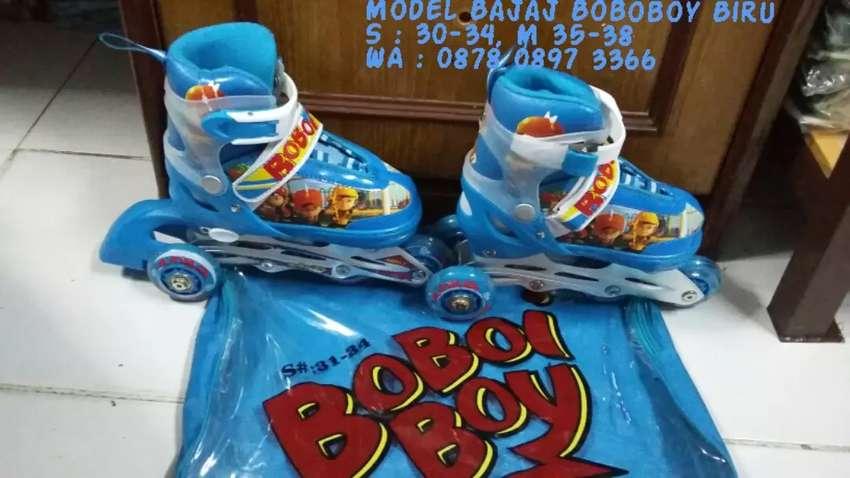 Sepatu roda bajaj Boboboy biru 0