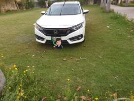 honda civic turbo car for rent lahore  for monthly and daily