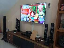 """PUSAT Pasang + Bracket Braket Breket Briket LED/LCD,UHD TV 4K 14""""- 85"""""""
