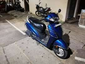 Auto India blue 17 honda activa 4g bs4 selling Excellent condition