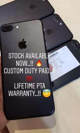 Iphone 7 and 7plus stock available