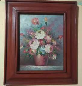 Lukisan bunga eropa lawas