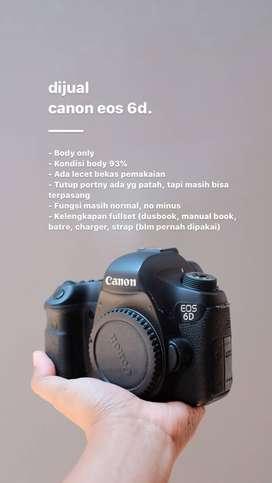 Canon eos 6d jogja