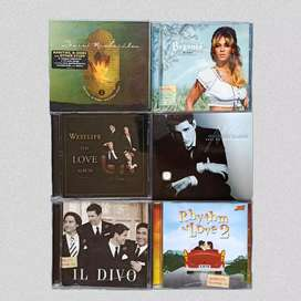 CD Lagu Barat Mega Bintang Pop Western Music Preloved Ori Borongan