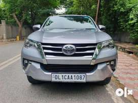 Toyota Fortuner 2.8 2WD AT, 2018, Petrol