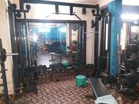 8 lakhs for full gym equipment