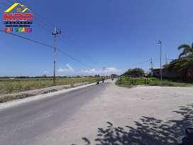 Dijual Tanah Luas Sangat Strategis Prospek di Jalan Industri Kabat