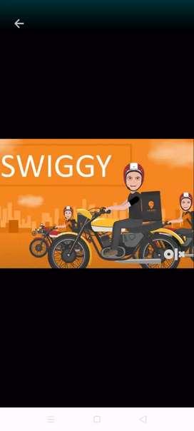 Swiggy delivery partner