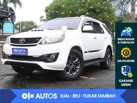 [OLXAutos] Toyota Fortuner VNT 2.5 G TRD Diesel A/T 2014 Putih