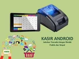 Mesin / Alat Kasir Android Toko Retail POS - Paket Standard