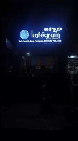 Running cafe for sale in the hot of bangalore Richmond circle