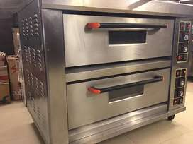 Two deck electric oven