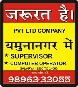 Pvt ltd company & Bank Required