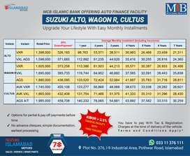 Suzuki Alto on Easy Monthly Installments