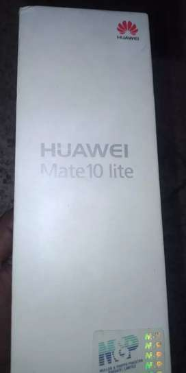 Huawei Mate 10 Lite, 4/64, Mint Condition Charger and Box