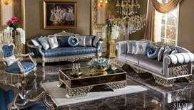 Luxury furniture kursi tamu mewah ukir klasik khas Jepara
