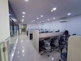 Furnished office available on rent in vashi