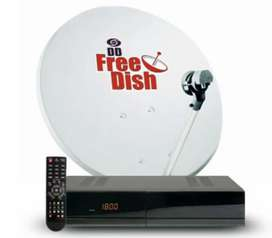 Free D2H Dish full Set with Installation only ₹. 1399
