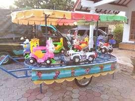 promo mainan odong kuda genjot usaha halal AR kereta panggung