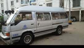 Ac and non ac hiace available for rent