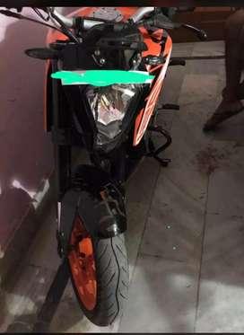 New bike h good condition koi bi kami nai h new tyre ha