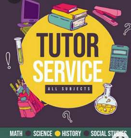 Tutor for grade 1-6(all subjects)