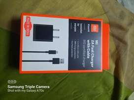 Mi charger with cable  Seal pack