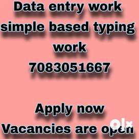 Required serious hard working (25) candidates for work from home job