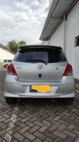 Yaris S Limited Edition Tahun 2011 pemakaian 2012