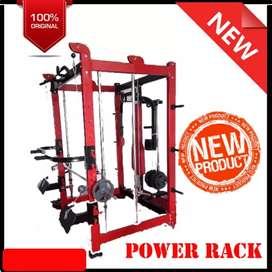 Alat fitnes power Rack Tempahan