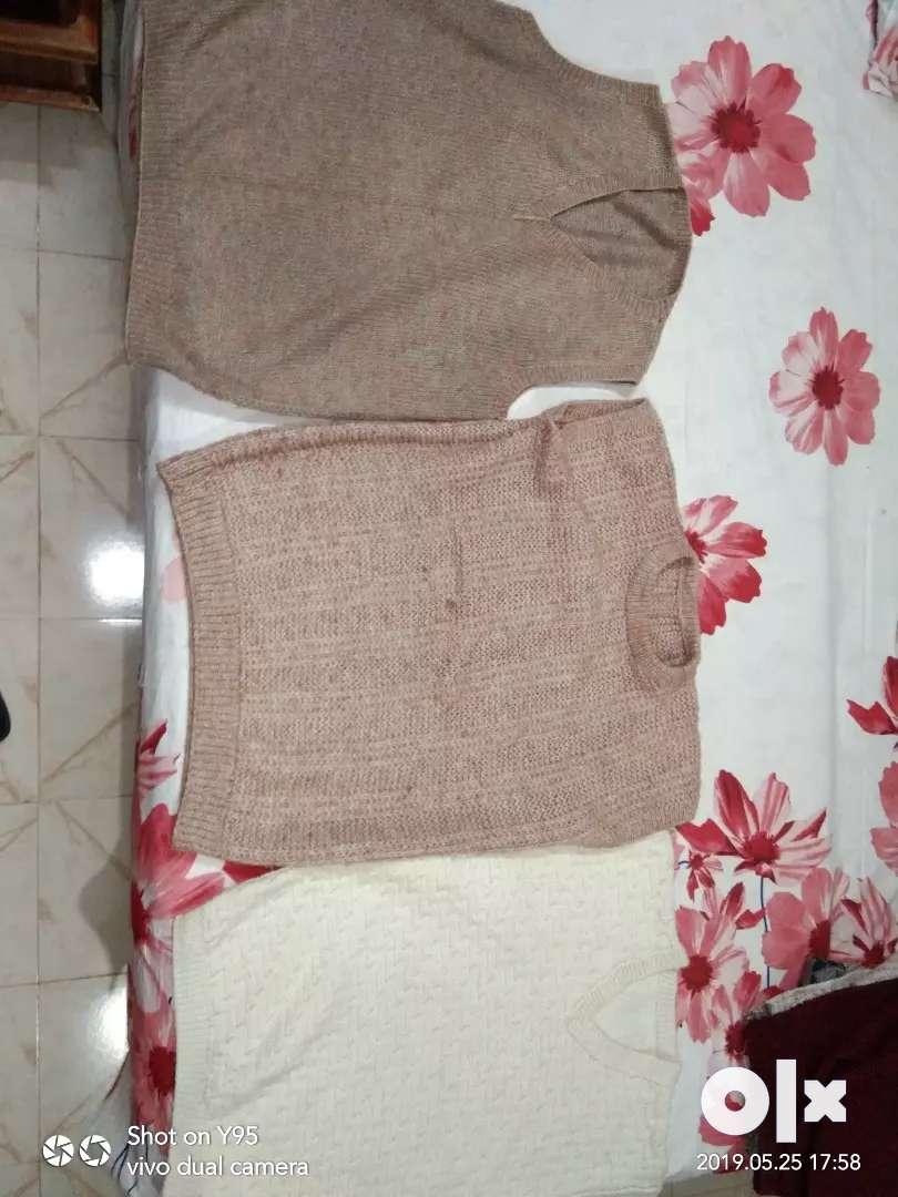 sleeveless sweaters. 0