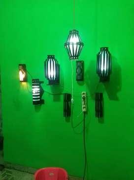 Pembuatan lampu interior