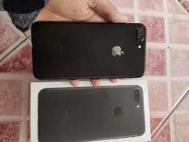 Dijual HP Iphone 7 Plus 32GB full set + free case