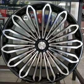 Velg HSR Ring 22 Modifikasi Mobil Pajero/fortuner
