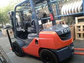 Forklift diesel 3 ton siap pake ready stock  garansi engine 1 tahun