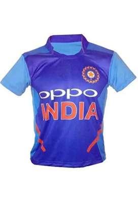 Team India Cricket Blue T-shirt Unisex